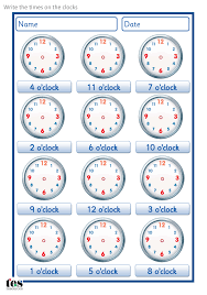 a set of worksheets to use when developing analogue clock skills a set of worksheets to use when developing analogue clock skills set contains 4 sheets