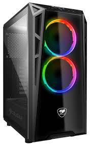 Купить <b>Корпус COUGAR Turret</b> RGB Black, <b>ATX</b>, Midi-Tower, USB ...