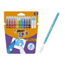 <b>Фломастеры</b> 10 цветов +2 обесцвечивающих <b>BIC</b> Kids <b>Magic</b> ...
