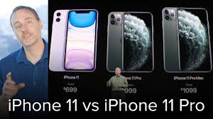 iPhone 11 vs iPhone 11 Pro - what