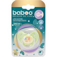 <b>BABOO Соска</b>-<b>пустышка</b> латекс кругл. ночн. <b>Baby Shower</b> 6 мес+ ...
