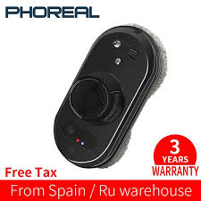 PhoReal FR-S60 <b>Window Cleaning Robot High</b> Suction Electric ...