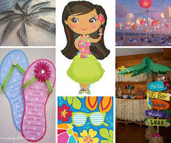 <b>Luau Party Ideas</b> | <b>Summer Party Ideas</b> at Birthday in a Box