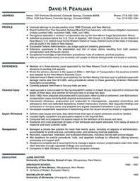 principal attorney resume example senior attorney resume