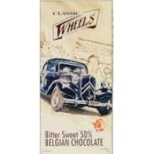<b>Шоколад</b> Бельгийский <b>Classic Wheels темный шоколад</b> какао 50 ...