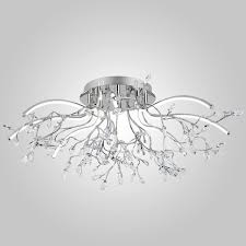 <b>Потолочная светодиодная люстра Eurosvet</b> 90036/8 хром