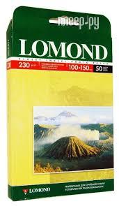 <b>Фотобумага Lomond</b> 100x150mm <b>230g</b>/<b>m2 глянцевая</b> ...