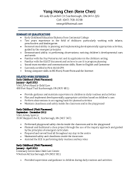 resume cover letter preschool  seangarrette coresume cover letter preschool
