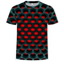 Мужская Повседневная <b>футболка</b> с коротким рукавом, модная 3D ...