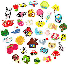 <b>39 Pcs</b> Iron on Patches <b>39PCS</b> Assorted Styles Embroidered Patch ...