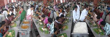 Image result for pictures of people queing for food in thirupathi thirumalai