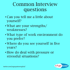 common interview questions english language esl efl learn common interview questions english language esl efl learn english vocabulary and grammar interview common interview questions and