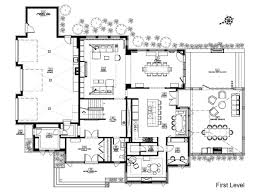 Modern House Floor Plans   Home Design Ideas    Modern House Floor Plans Inspiration