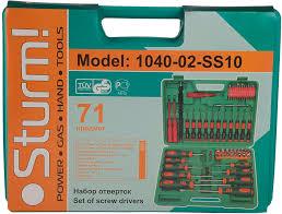 <b>Набор отверток Sturm 1040</b>-<b>02</b>-SS10 — купить инструмент по ...