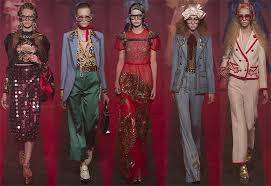 Style Notes: фантасмагория Алессандро Микеле. Показ Gucci в ...