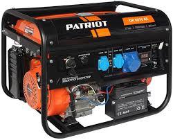 Купить <b>Бензиновый генератор PATRIOT GP</b> 6510AE, 220, 5.5кВт ...