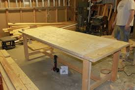 Rustic Dining Room Table Plans How To Build A Rustic Dining Room Table Large And Beautiful
