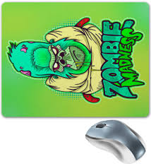 Коврик для мышки Zombie Madness #1619975 от Leichenwagen