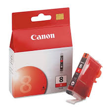 <b>Картридж Canon</b> (уценен просрочен) <b>CLI</b>-<b>8</b> R <b>RED</b> (красный) для ...