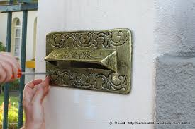 letter box cover letter box cover affixing the cover plate to the wall letter box cover