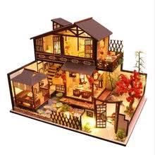 Большой <b>кукольный домик</b> с <b>мебель</b> собирать деревянные ...
