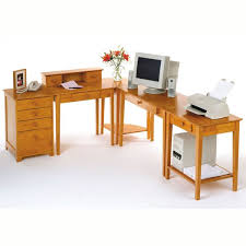 5 piece studio home office by winsome wood awesome pine desks home office