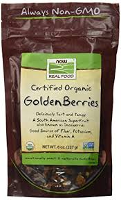 NOW <b>Foods</b>, <b>Organic</b> GoldenBerries, South American Superfruit with ...
