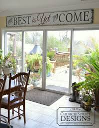 wood sign glass decor wooden kitchen wall: the best is yet to come large hand painted wooden sign by church street designs