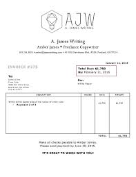 writing an invoice for lance work residers info what a lance invoice looks like invoice templates