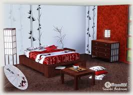 beautiful asian inspired bedroom set simcredible sims3 chinese inspired furniture