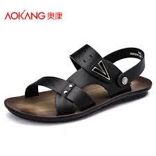 <b>Aokang</b> 2015 <b>New Arrival</b> Daily Casual Summer Men Sandals ...