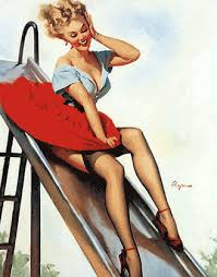 Image result for cute animated pin ups