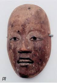 No Maske. No-Maske, Holz, Japan 18./19.Jh., aus dem Besitz von Gustav Klimt, Privatbesitz. Friederike Maria Beer - no_maske