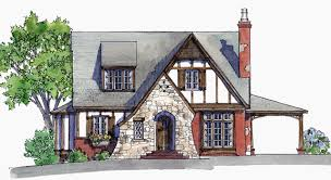 English Tudor House Plans   Southern Living House PlansFcr