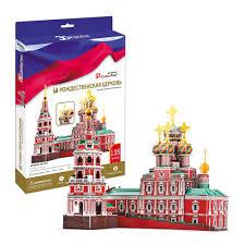 <b>CubicFun 3D Puzzle</b> 191h <b>Рождественская церковь</b> (Россия ...
