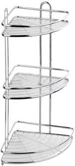<b>Полка</b> для ванной и кухни <b>Fora Floria</b> угловая тройная (FOR-2004 ...