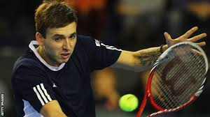 BBC Sport - Dan Evans guides GB to Davis Cup win over Slovakia - _58461522_dan_evans_getty