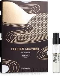 <b>Memo Italian Leather</b> - Парфюмированная вода (пробник): купить ...