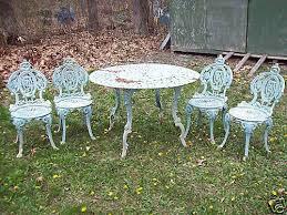 antique cast iron garden furniture antique rod iron patio
