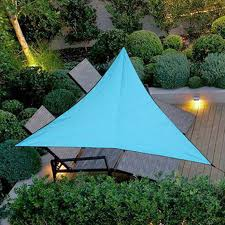 3M Outdoor <b>Sun</b> Shelter <b>Waterproof Awning Triangle</b> Tent Canopy ...