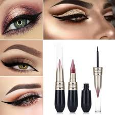 Хит 2 в 1 <b>карандаш для макияжа глаз</b> металлический ...
