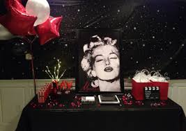 best images about sweet red carpets red marilyn monroe party theme