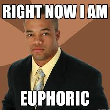 right now i am euphoric - Successful Black Man - quickmeme via Relatably.com