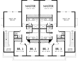 Two Story Great Room in Quiet Duplex   AM   nd Floor Master    Reverse Floor Plan Pinit white