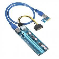 Райзер 12v 6pin ver 006C PCI-E PCI Express Riser <b>USB 3.0</b> ...