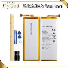 <b>HB4242B4EBW Battery For</b> Huawei honor 6 H60 L01 H60 L02 H60 ...