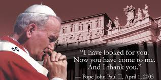 Image result for pope john paul ii canonization