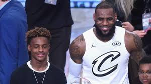 LeBron James Jr., LeBron