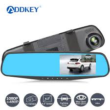 <b>4.3 inch</b> Car Mirror Video Dash Camera <b>Car Dvr</b> mirror FHD 1080P ...