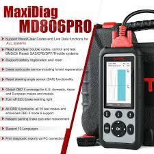 <b>Autel MaxiDiag MD806 Pro</b> Full System OBD2 Scanner same as ...
